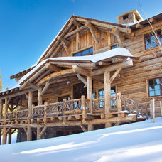 Rustic Exterior by Lohss Construction