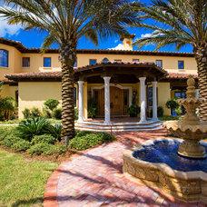 Mediterranean Exterior by FleischmanGarcia Architecture