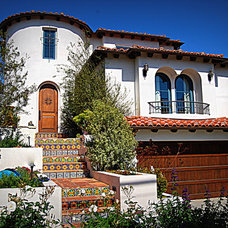 Traditional Exterior by Mark Trotter, Trotter Building Designs, Inc.