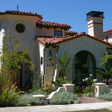 Mediterranean Exterior by Dave Powers Construction