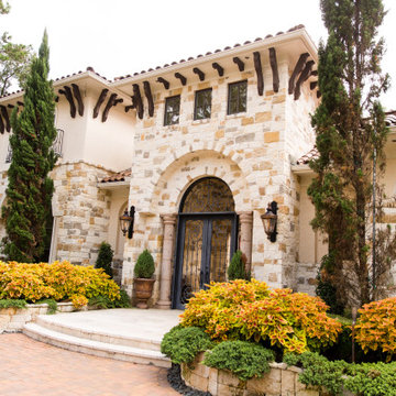 Spanish Style Home Entryway