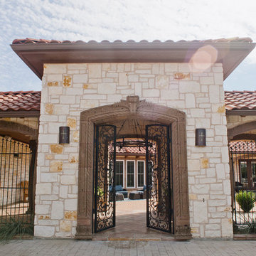 Spanish Style Home - Hill Country Hacienda