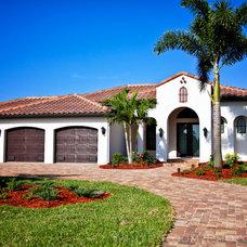 Modern Exterior Spanish Style Home