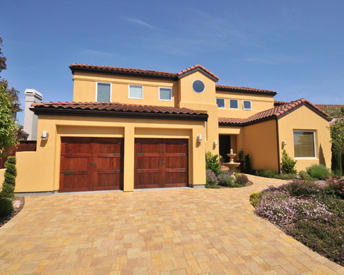Yellow Adobe Exterior Design Ideas Renovations Amp Photos