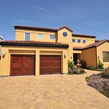 Spanish Style Home with Window World TX Windows and Garage Doors