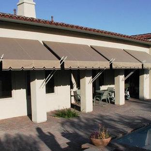 Mediterranean exterior home idea in Phoenix
