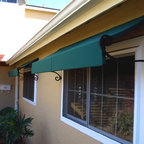 Residential Window And Door Awnings Contemporary