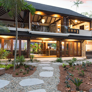 Island style exterior home photo in Cairns