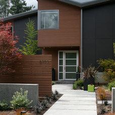 Contemporary Exterior by Banyon Tree Design Studio