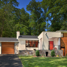 Contemporary Exterior by Wentworth, Inc.