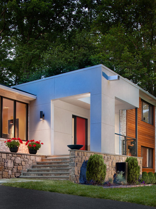 Addition To Bilevel Split Level: Best Split-Level Exterior Design Ideas & Remodel Pictures