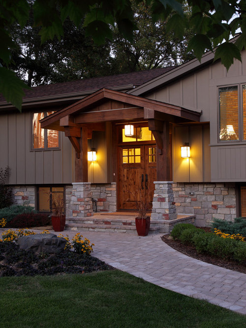 Split Level Facelift Home Design Ideas Pictures Remodel