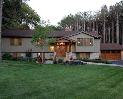 Split-Level Facelift Home Design Ideas, Pictures, Remodel ...