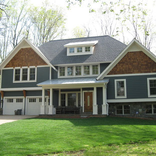 Example of a classic exterior home design in DC Metro
