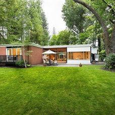 Midcentury Exterior Spokane Midcentury - Mary Jean & Joel E. Ferris, II House