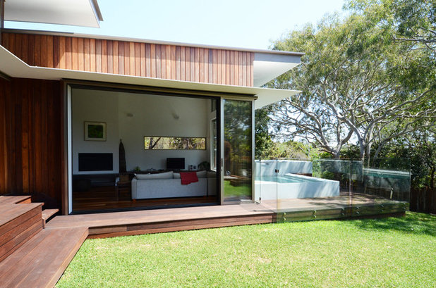Contemporary Exterior by Bark Design Architects