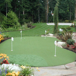 Sport Court Putting Greens & Artificial Turf Lawns - Custom Putting Green