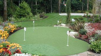 Sport Court Putting Greens & Artificial Turf Lawns