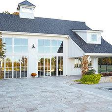 Farmhouse Exterior by Scott Christopher Homes/Surpass Renovations