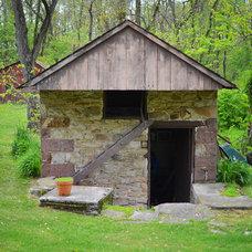 Farmhouse Exterior by Amy Renea