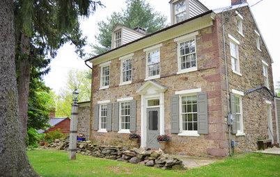 Houzz Tour: Historic Fieldstone Home in Pennsylvania