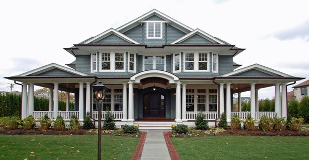 Traditional Exterior by The Architect's Studio - Mark A. Pavliv, AIA
