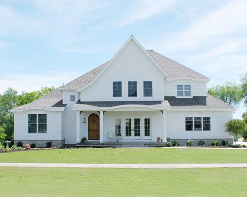 Benjamin Moore White Dove Exterior Home Design Ideas