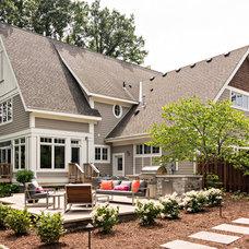Transitional Exterior by Knight Construction Design | Chanhassen, Minnesota