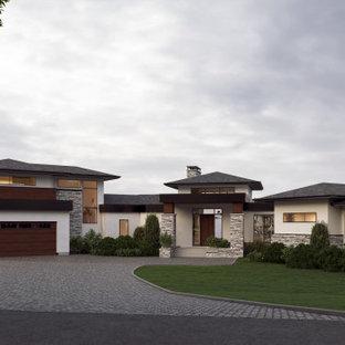 Springbank Hill - Modern Prairie Bungalow - Front
