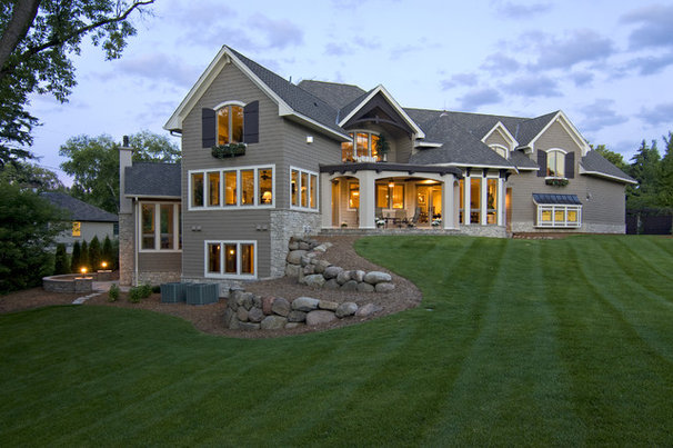 Traditional Exterior by Schrader & Companies