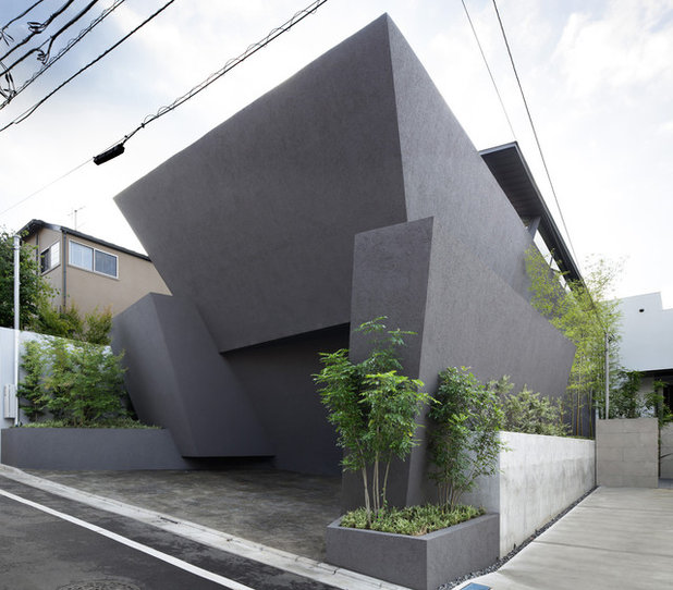 コンテンポラリー 家の外観 by Kotaro Ide / ARTechnic architects