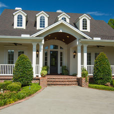 Traditional Exterior by Finial Custom Builders, Inc.