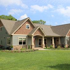 Craftsman Exterior by Curtiss W. Byrne Architect, LLC