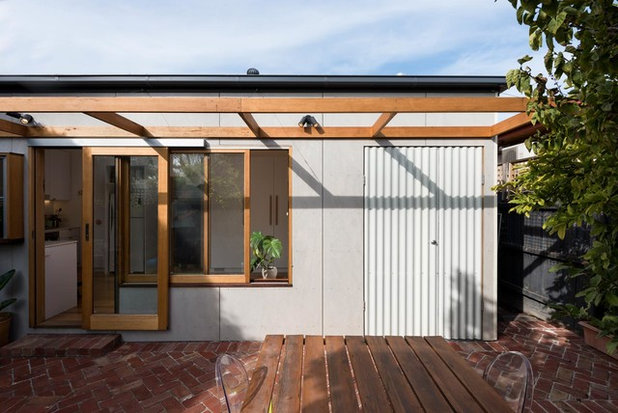 Scandinavian Exterior by Drawing Room Architecture