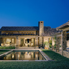 Mediterranean Exterior by Sterling-Huddleson Architecture
