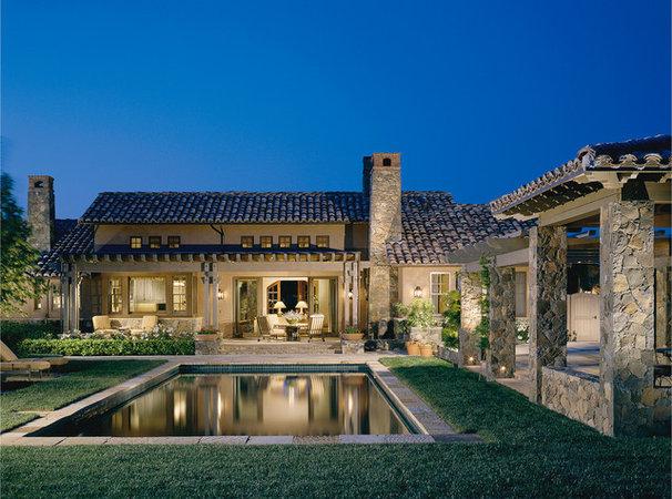 Mediterranean Exterior by Sterling-Huddleson Architecture