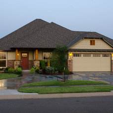 Craftsman Exterior by Muirfield Homes by Alan Cheshier