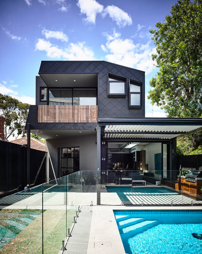 Contemporary Exterior by EWERT LEAF PTY LTD