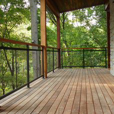 Contemporary Exterior by Chouteau Building Group, LLC