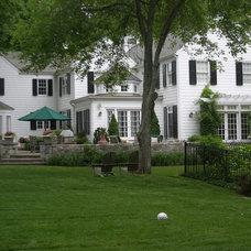Traditional Exterior by Rock Spring Design Group LLC (David Verespy, ASLA)