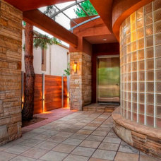 Contemporary Entry by ArcWest Architects