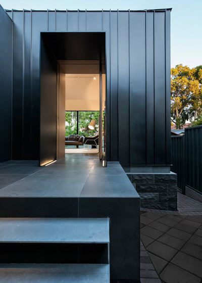 Contemporary Exterior by Glasshouse Projects