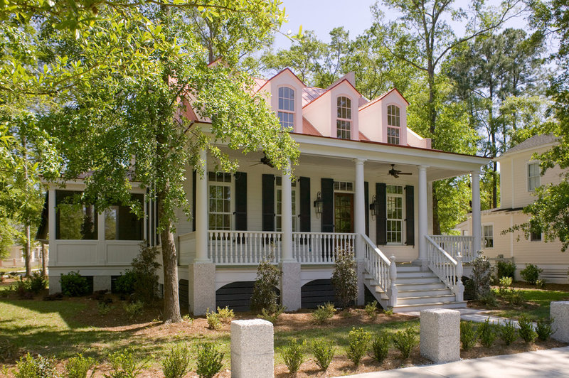 Traditional Exterior by WaterMark Coastal Homes, LLC