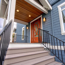 Traditional Exterior by Westhill Inc