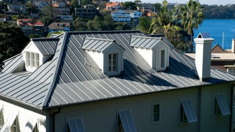 Standing Seam Zinc and Copper Roofing