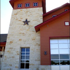 Traditional Exterior by Texas Lightsmith