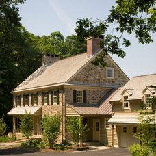 Farmhouse Exterior by Griffiths Construction, Inc.