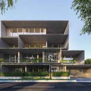 Modern exterior in Melbourne.