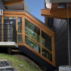 Contemporary Exterior by site lines architecture inc.