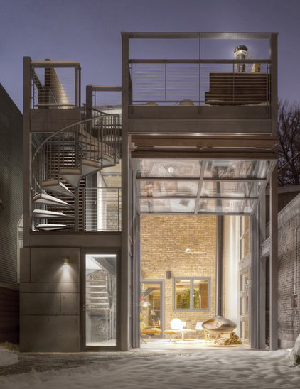 Contemporary Exterior by dSPACE Studio Ltd, AIA